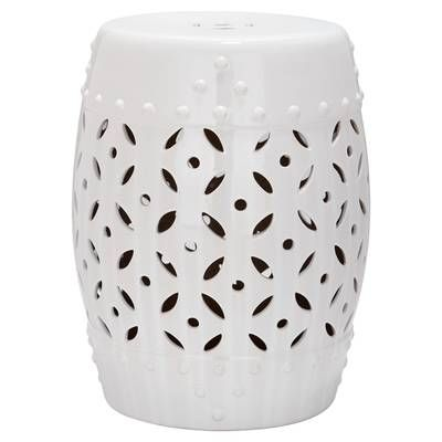 Brilliant Palm Coast Floral Garden Stool In 2019 Bathrooms Remodel Ncnpc Chair Design For Home Ncnpcorg