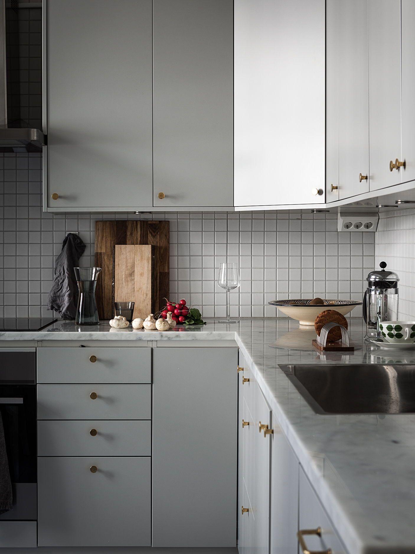Light filled kitchen in grey home design pinterest kitchen