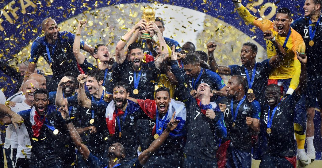 France A World Cup Champion That Stood Above It All In Russia The New York Times World Cup Champions World Cup World Cup Winners