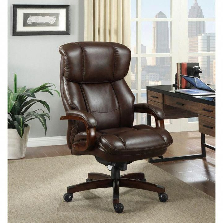 Executive Desk Chair Leather - Best Sit Stand Desk #lazyboychair