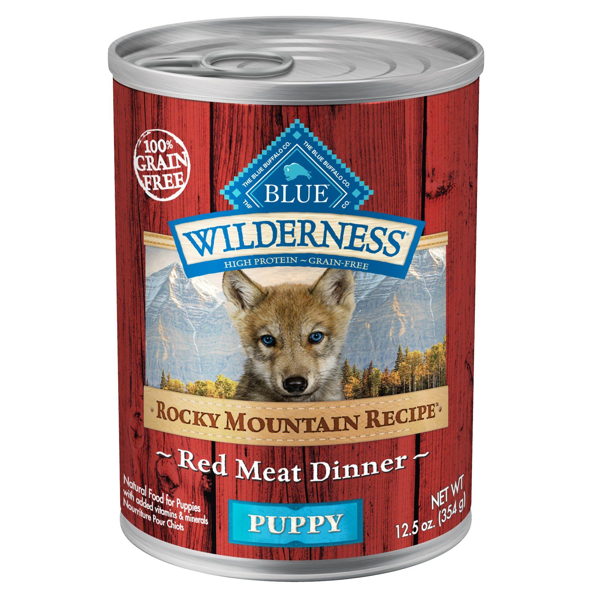 Blue buffalo blue wilderness rocky mountain recipe red