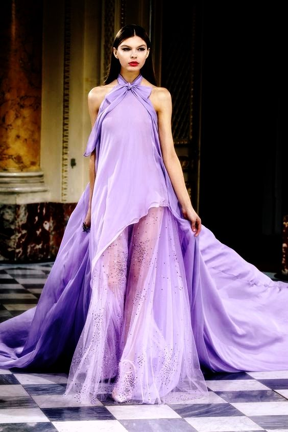 Pin by Nelia Naldi on Lilás/Violeta/Roxo | Pinterest | Gowns ...