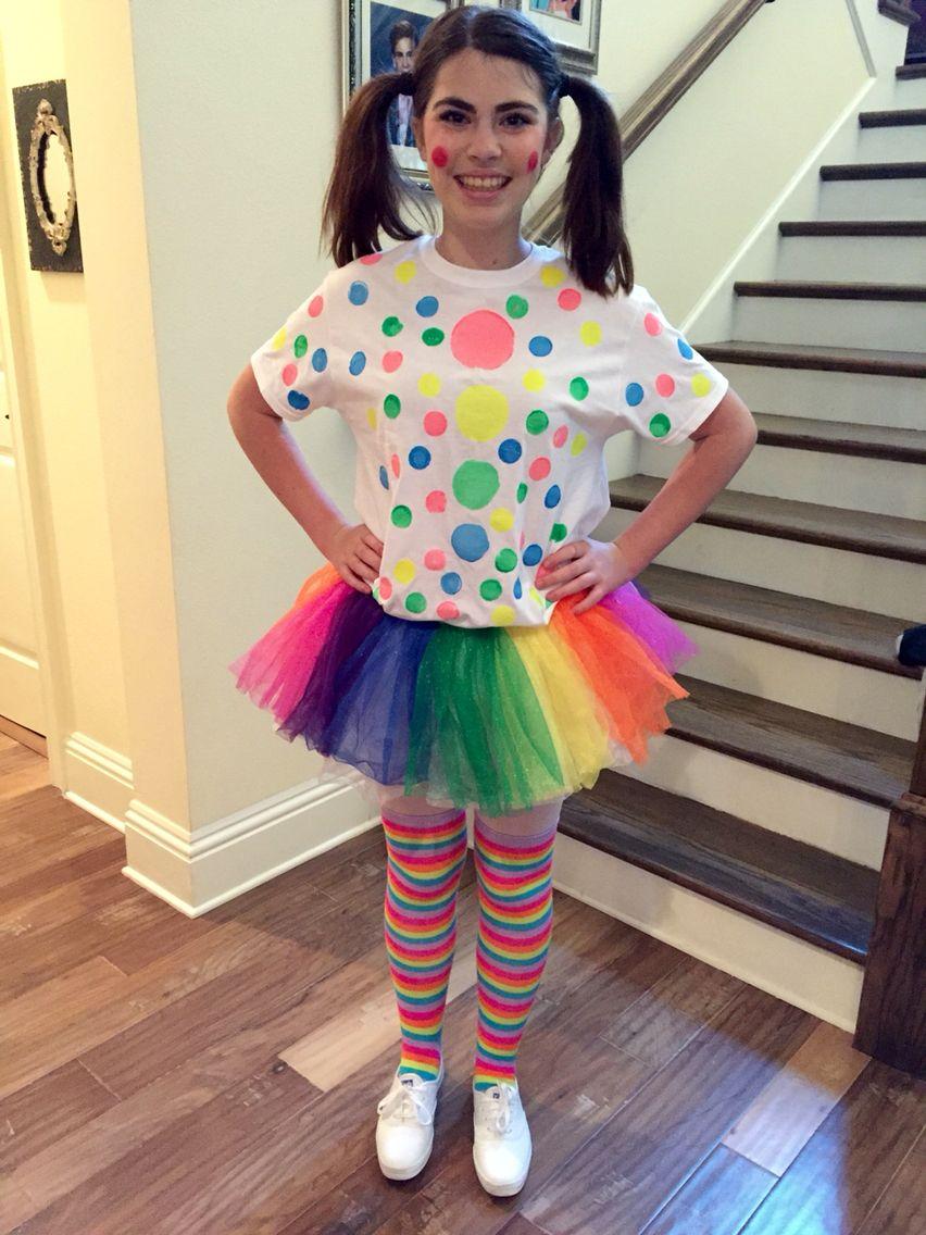 Cute Female Clown Diy Costume Roupa De Palhaco Fantasias Fantasia De Palhaco
