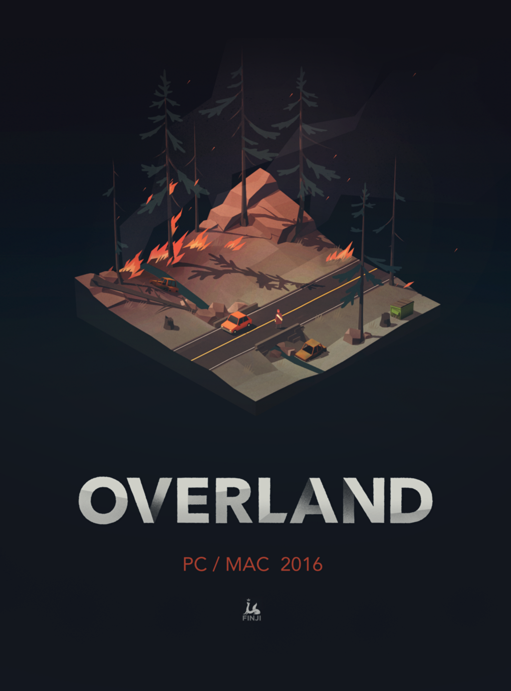The Making Of Overland Game Inspiration Game Art Video Game Logos
