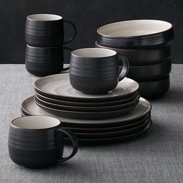 Kitchen Dish Sets Bosch Package 18th Street 16 Piece Dinnerware Set In 2019 Crate And Barrel