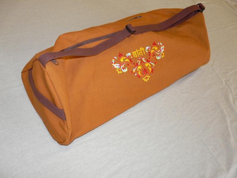 Yoga mat bag Block Bag Extra Large | Etsy | Mat bag, Yoga ...