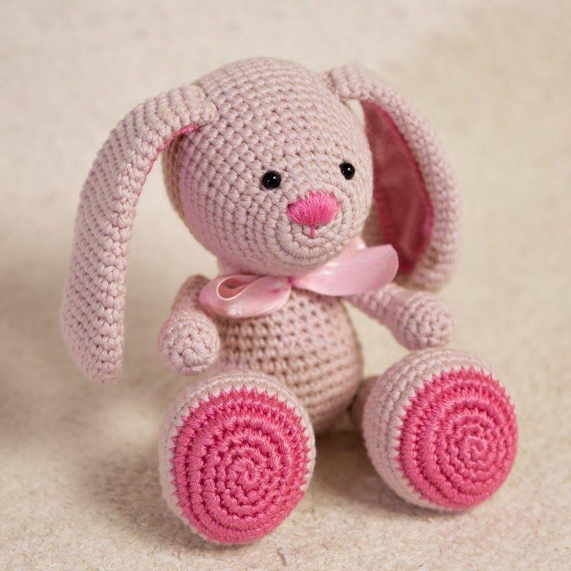 Amigurumi creations by HappyAmigurumi: NEW PATTERN: Amigurumi Bunny ...