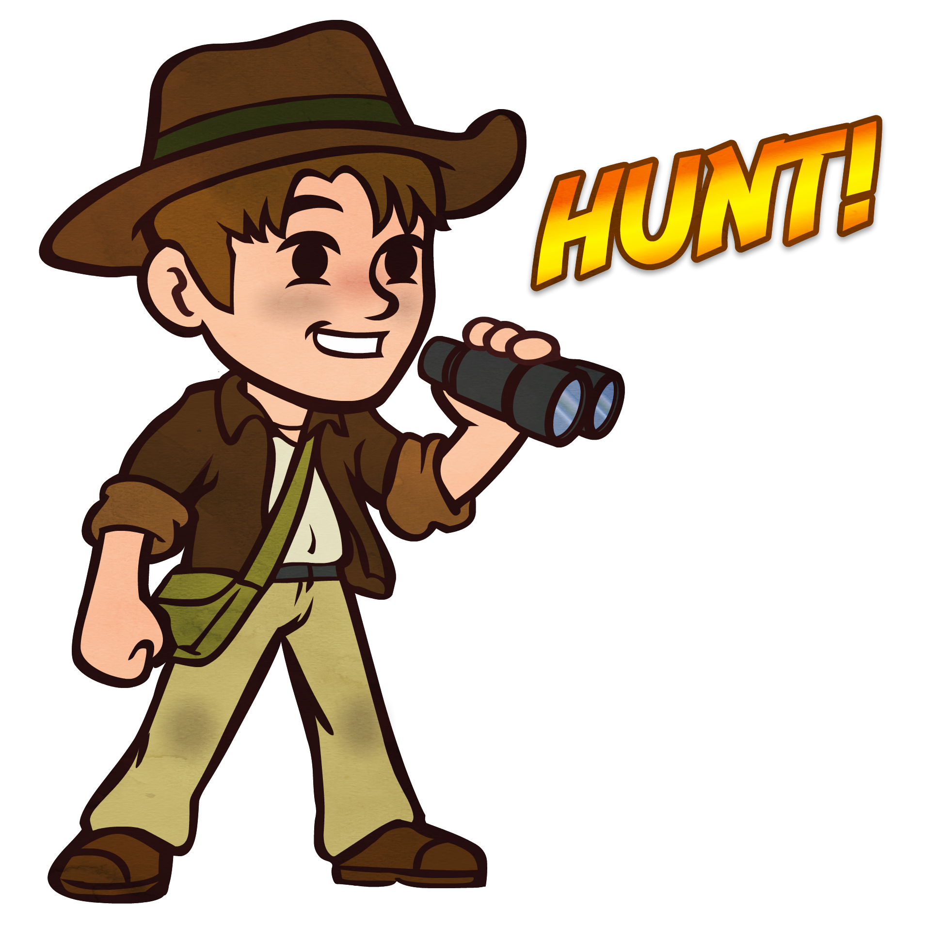 GDT Mascot - Humting a Geo Detecting Treasure Cache! Metal Detecting, Geocaching, GeoDetecting.com