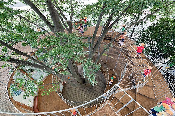 Kinder Garden: Ring-Around-Tree-tezuka