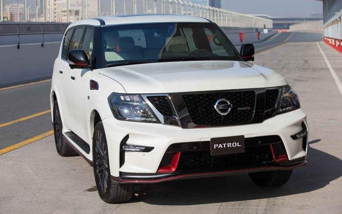 2018 Nissan Patrol Review Price Design
