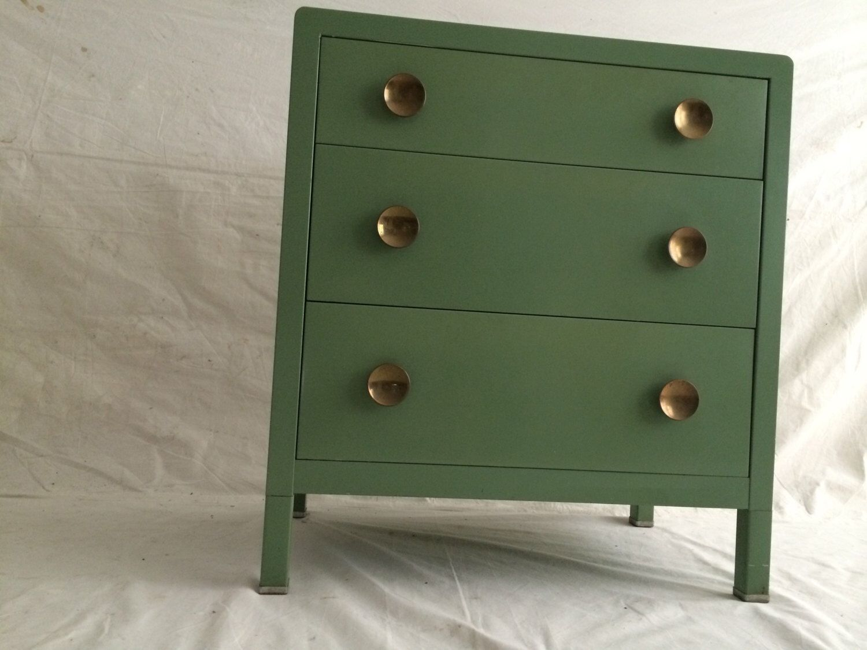 simmons metal furniture. simmons steel art deco dresser mid century modern industrial metal machine age chest bureau cabinet furniture