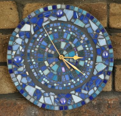 Learn How To Make A Mosaic Clock Project The Mosaic