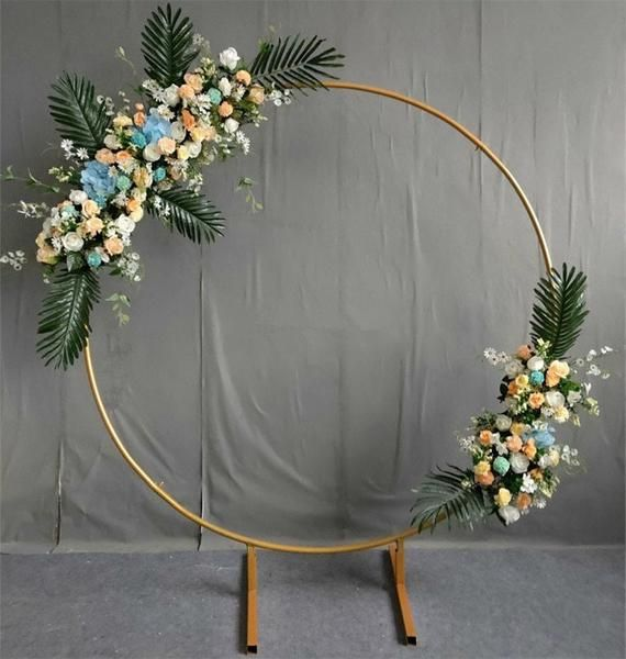 Wedding Backdrop Stand Wedding arch Wedding arch Ceremony Wedding Arch Decor gold metal arch Flower arch Balloon arch Baby shower stand