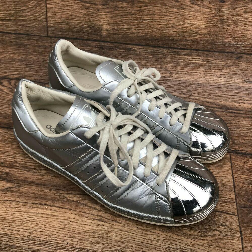 adidas superstar metallic pack silver