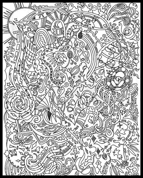 Värvimine | Mandala | Pinterest | Doodles, Adult coloring and ...