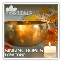 Singing Bowls Low Tone