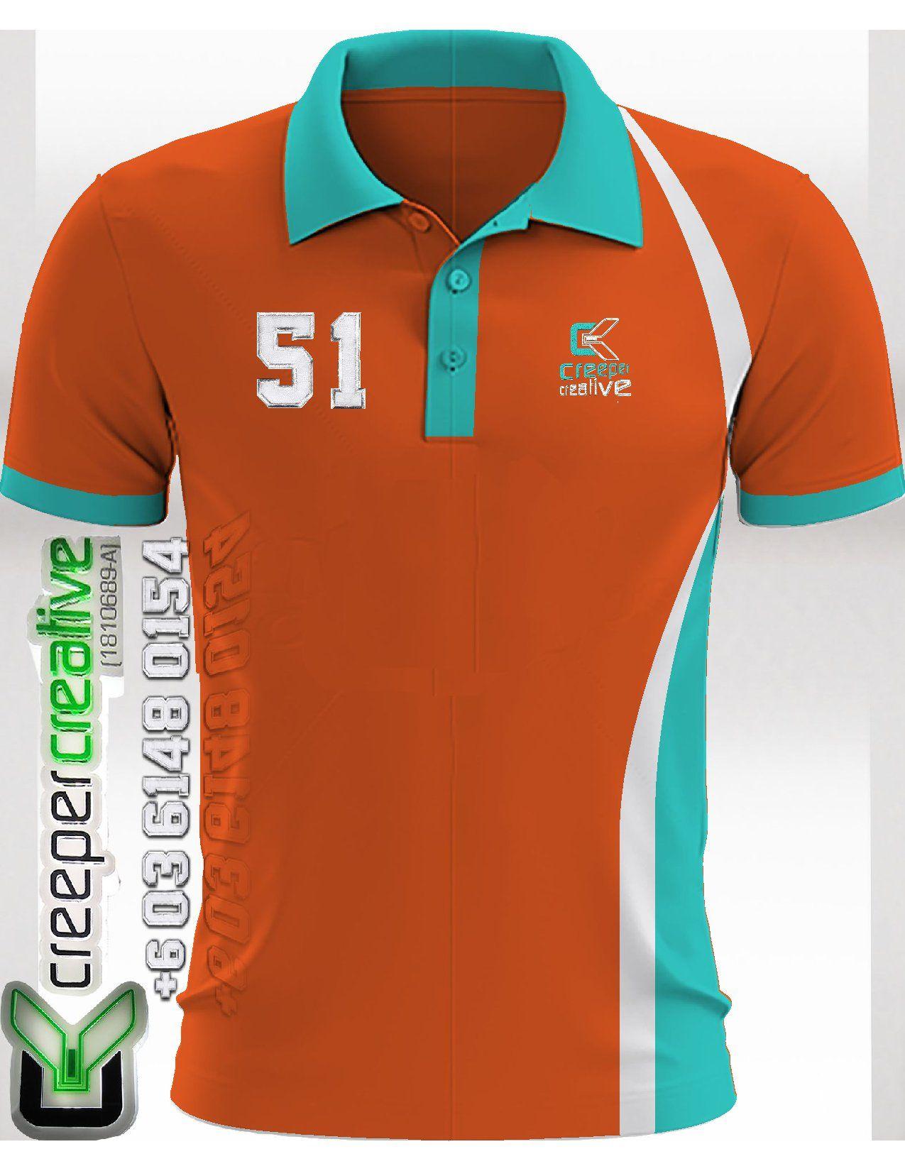 Polo Shirt Customade Design Material Ikut Selera Anda Dengan