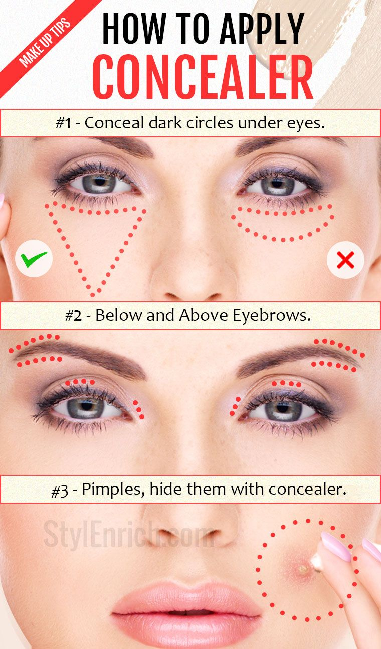 How to Apply Concealer Important Make Up Tips Just For