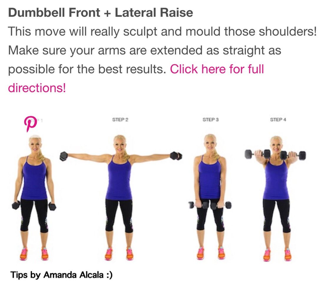 ab746beff01bf 🔹💪Get Rid Of Those Bat Wings! 17 Of The Best Excersize To Tone Your Arms!  💪🔹  tipit