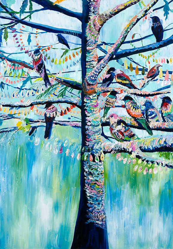 pigeon tree by Starla Michelle