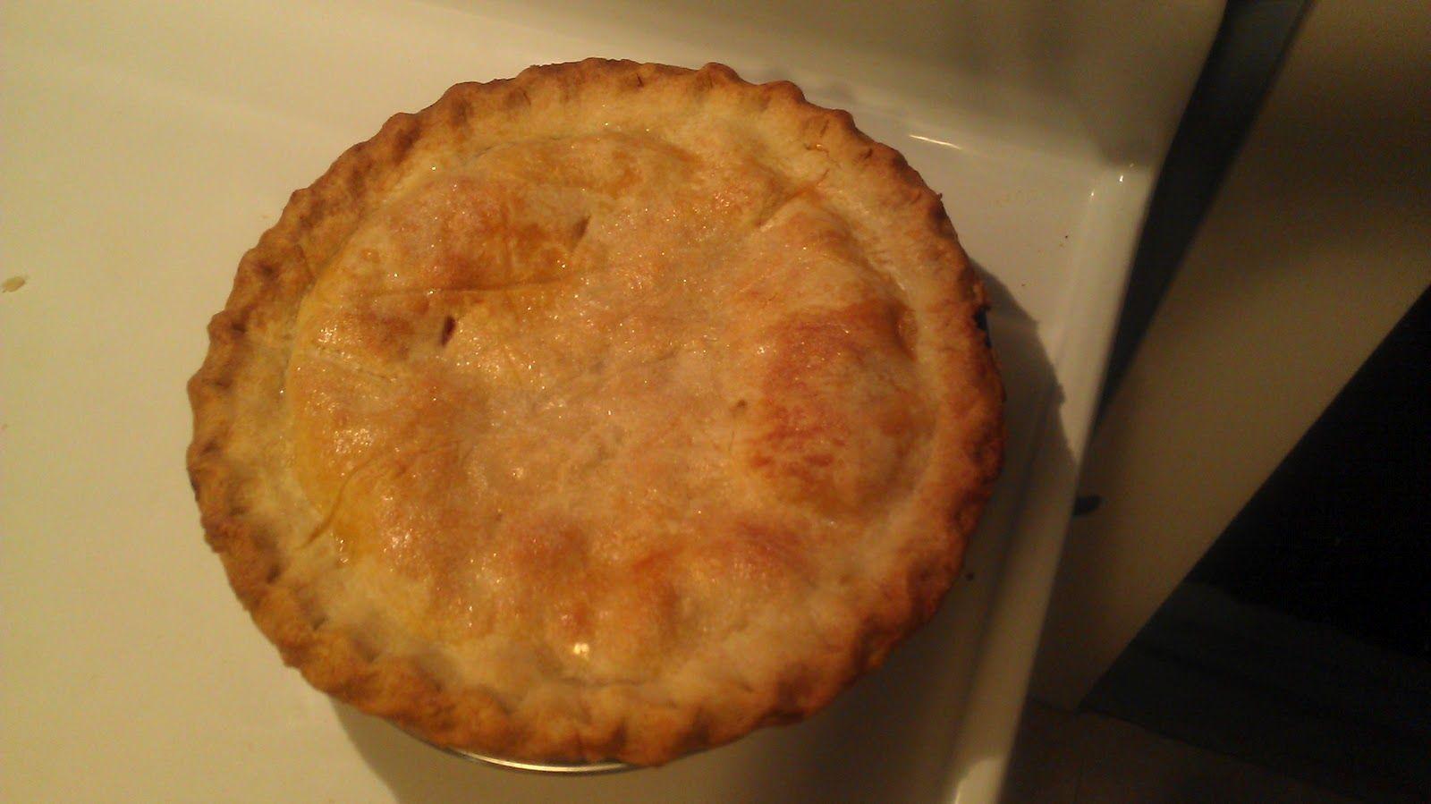 Baking with Diana - Peach Pie!