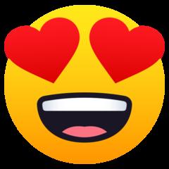 Heart Eyes Emoji In 2020 Eyes Emoji Heart Eyes Emoji