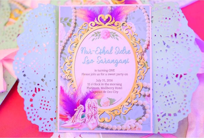 Party Invitation From Sweet Victorian Tea Party At KaraS Party