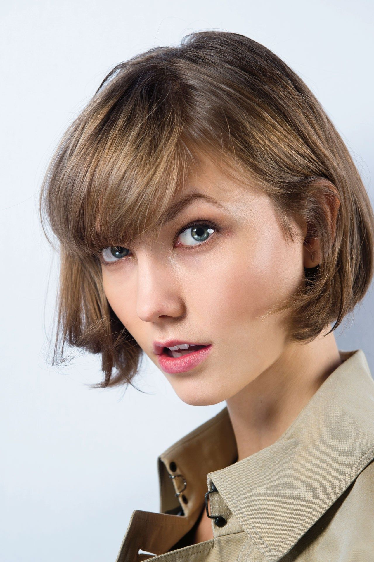 we take hair cut inspiration from karlie kloss. the relaxed