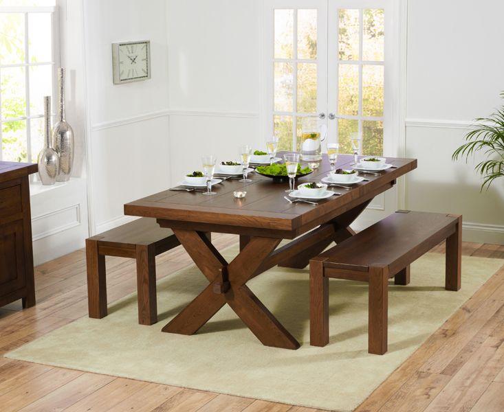 28+ Dark wood trestle dining table trends