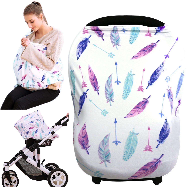 Hicoco baby car seat cover nursing covers breastfeeding
