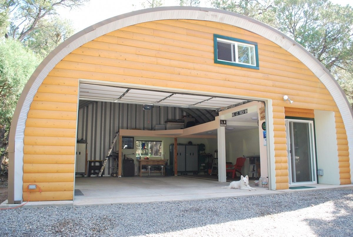 Vickie Brewer's Building Building a house, Quonset homes
