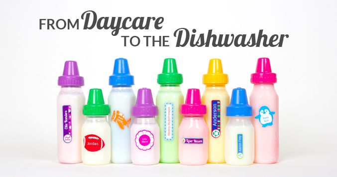 The Must Have Labels For Daycare Daycare Baby Bottle Labels