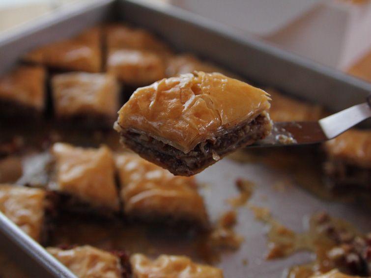 Baklava receta dulces rabes postres deliciosos y reposteria baklava recipe ree drummond food network foodnetwork forumfinder Choice Image