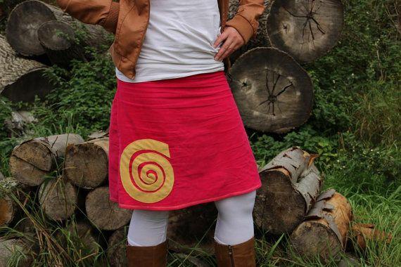 Cord Rock A Form Spirale Kreisel Cordrock von MeinekreativeWelt