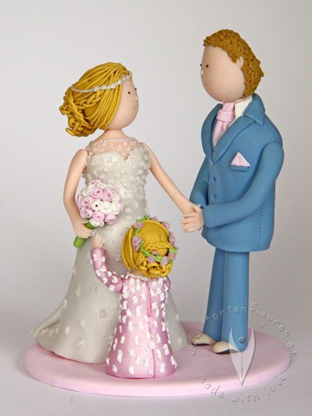 Personalisiertes Familien Brautpaar Mit Kind Hochzeit
