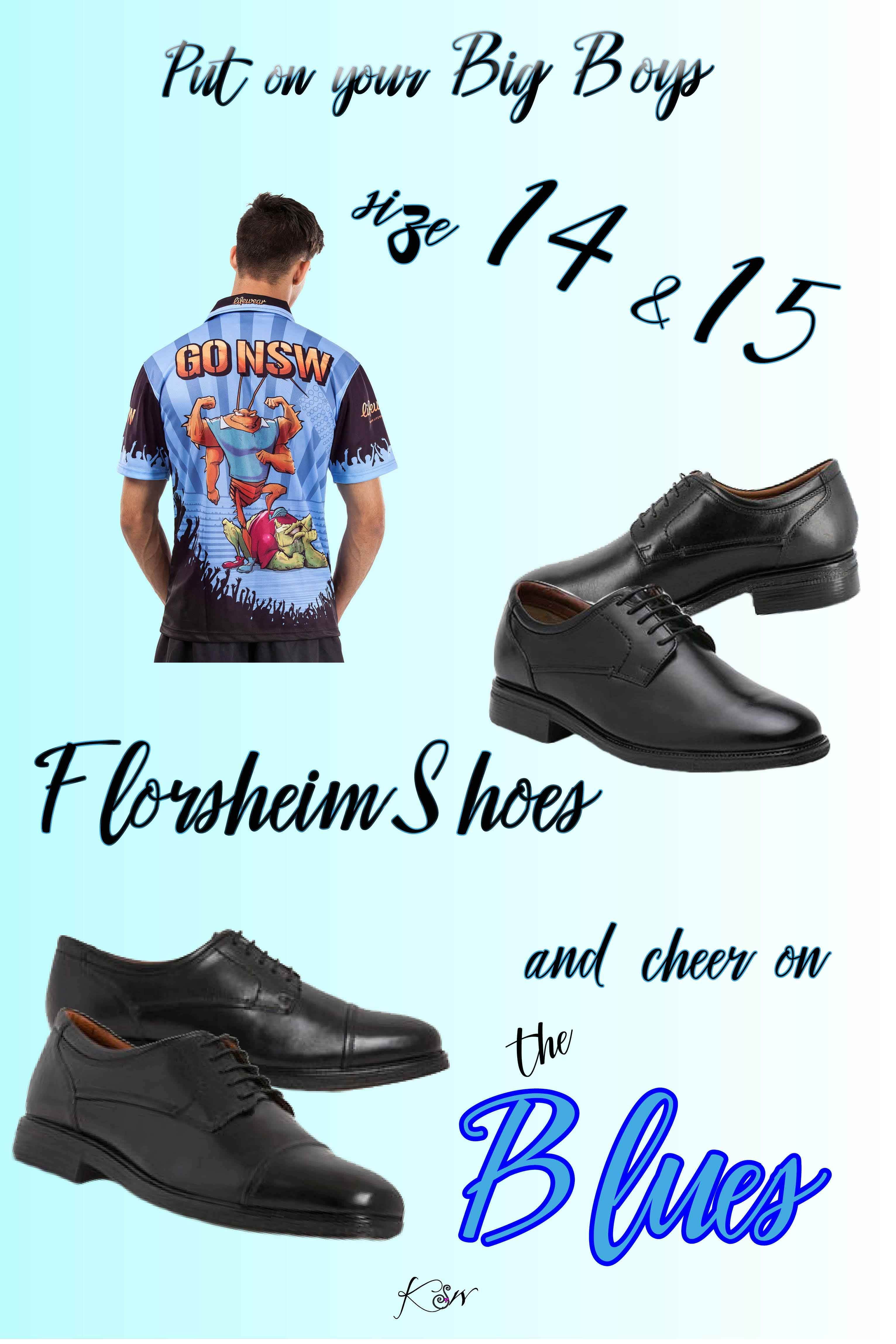 This Origin ,we have shoes for the big boys. Florsheim