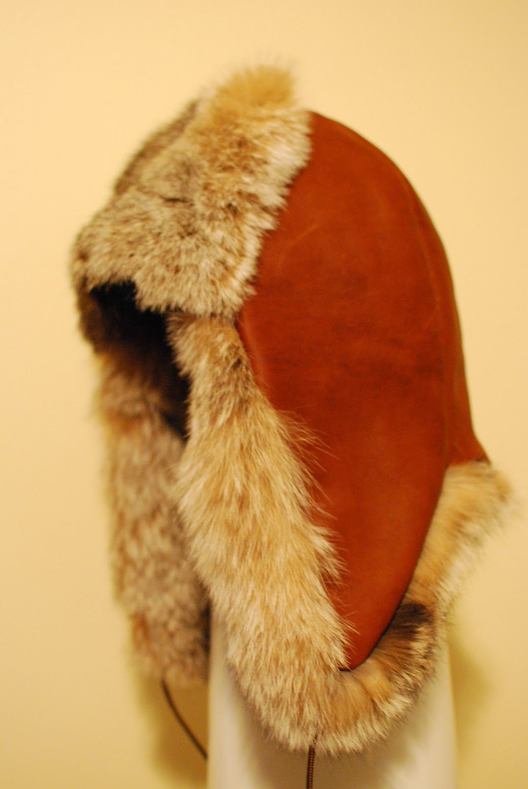 8d6fd9c9c5a Lynx Hat complete Introduction Sewing beaver trapper hats was how I got  started into fur sewing. My current project is a L..