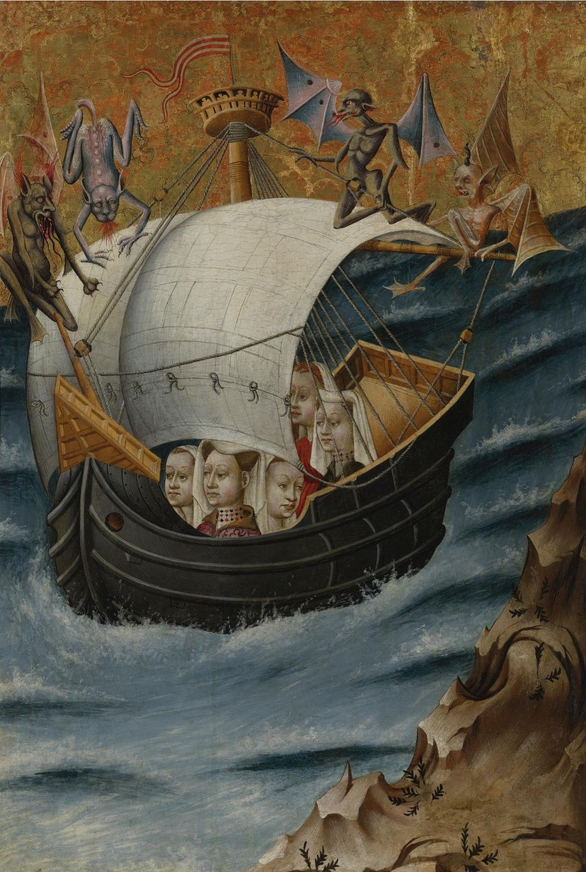maertyrer:  Hamburg ArtistThe Voyage of Saint Ursula to Cologne circa 1420