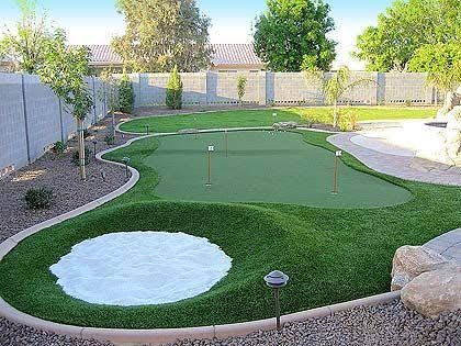 Image result for how to make a side yard putting green ...