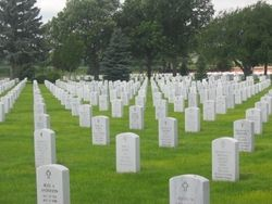 Fort McPherson National Cemetery  12004 S Spur 56a Maxwell  Maxwell  Lincoln County  Nebraska  USA  Postal Code: 69151-1031