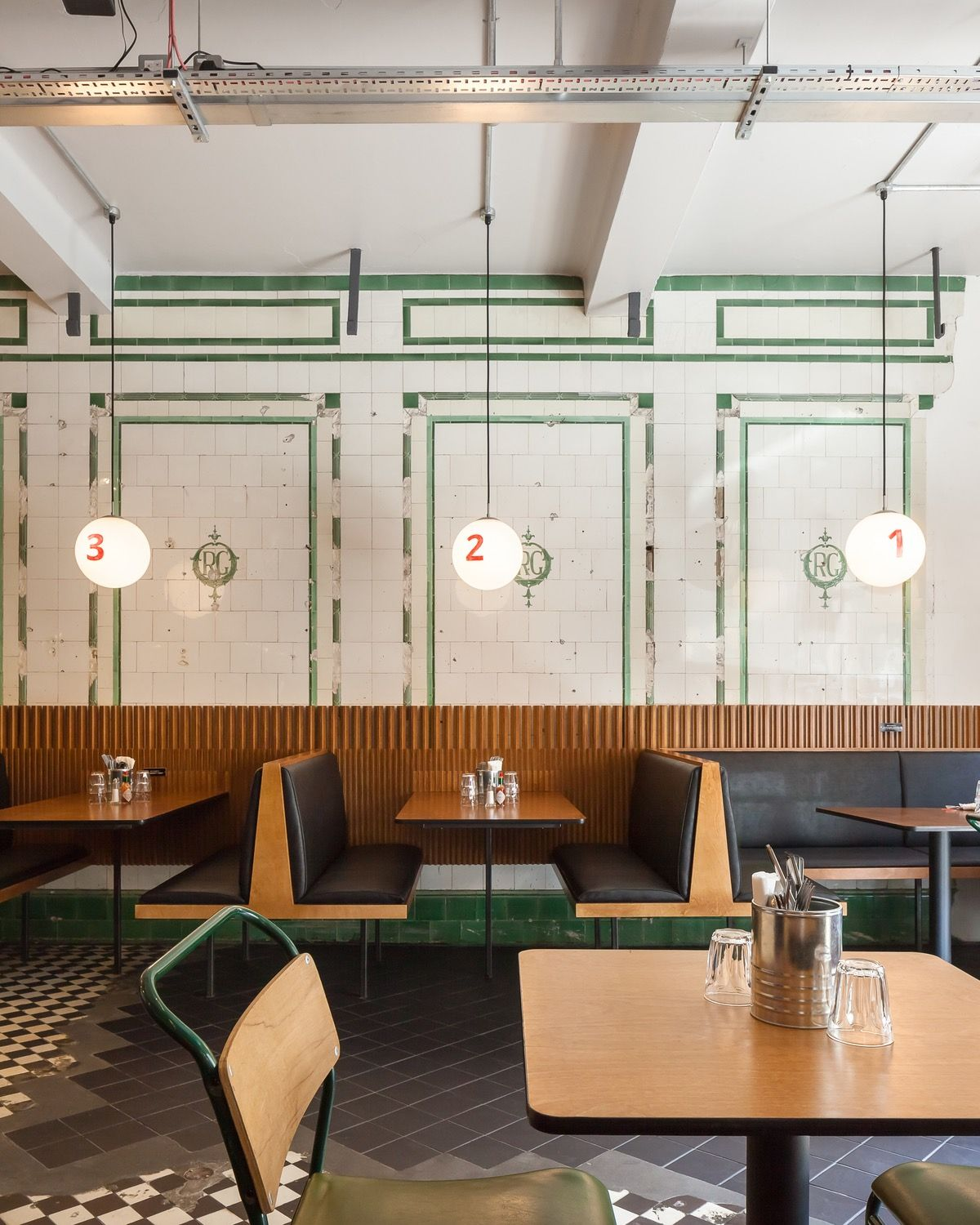 Cafe Jardin East London: MATA Architects Designed Jewish Deli Inspired By Classic