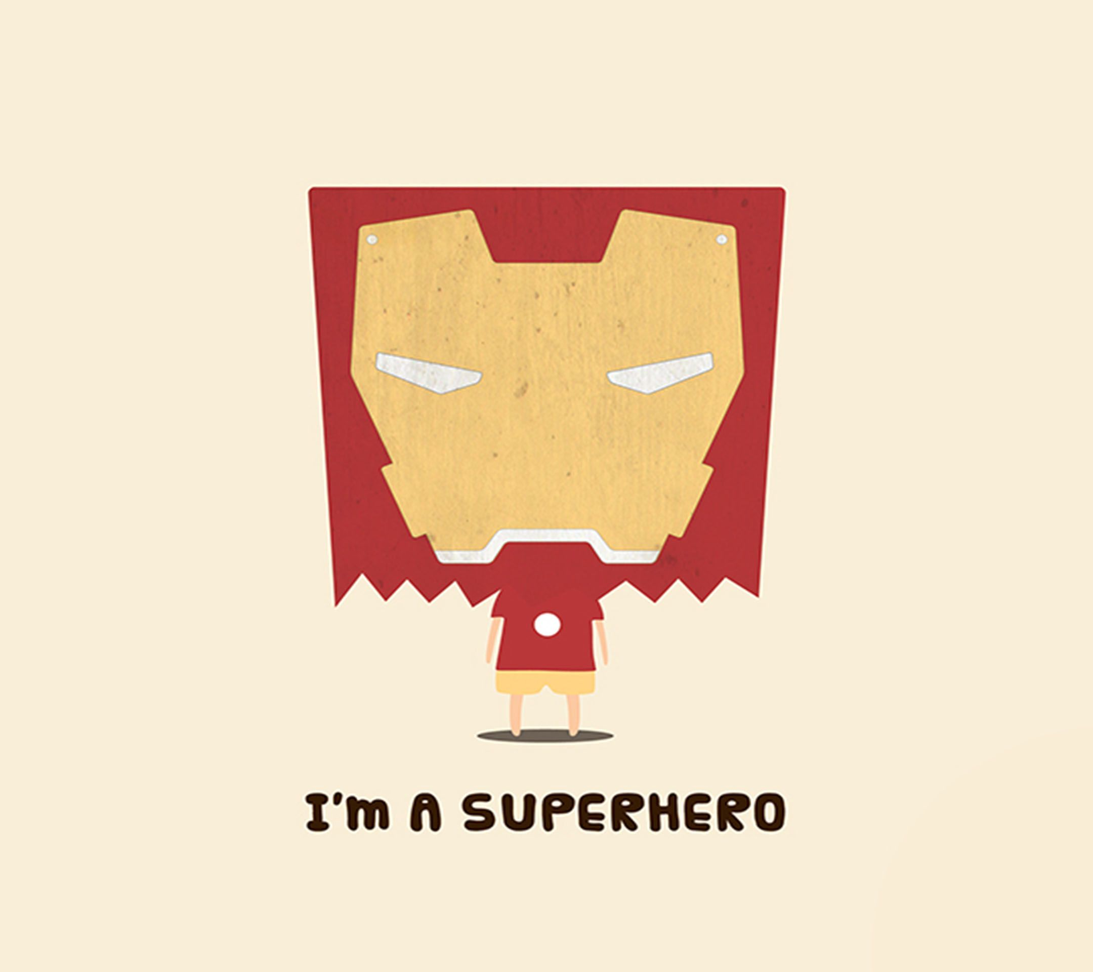Im A Superhero Cute Ironman Android Wallpaper At Mobile9 Other