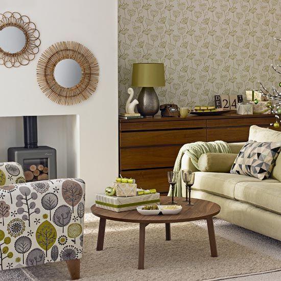 Living Room Decor To Match Brown Sofa #homedecorblog