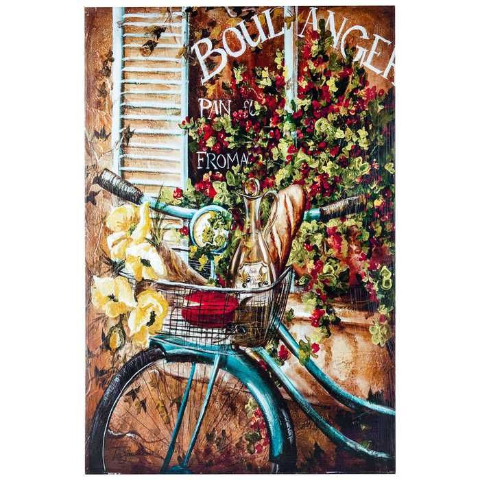 French Bicycle Canvas Wall Art from Hobby Lobby Nobody Likes - tapeten für küche