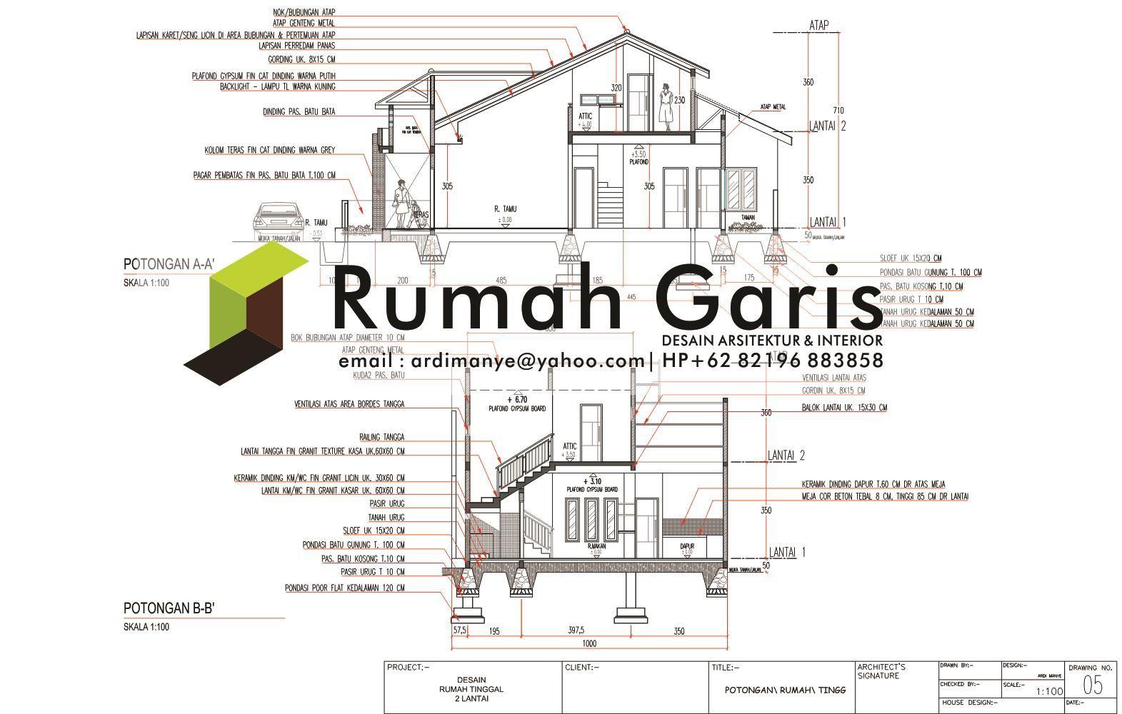 Potongan rumah 2 lantai luas tanah dan tipe planos pinterest potongan rumah 2 lantai luas tanah dan tipe swarovskicordoba Images