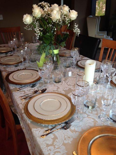Pin By Carole Hudicek On Confirmation Table Settings Spring Table Settings Table Decorations