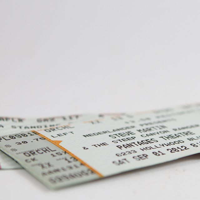 Creative Ways to Wrap Concert Tickets Concert tickets, Concert - concert ticket maker