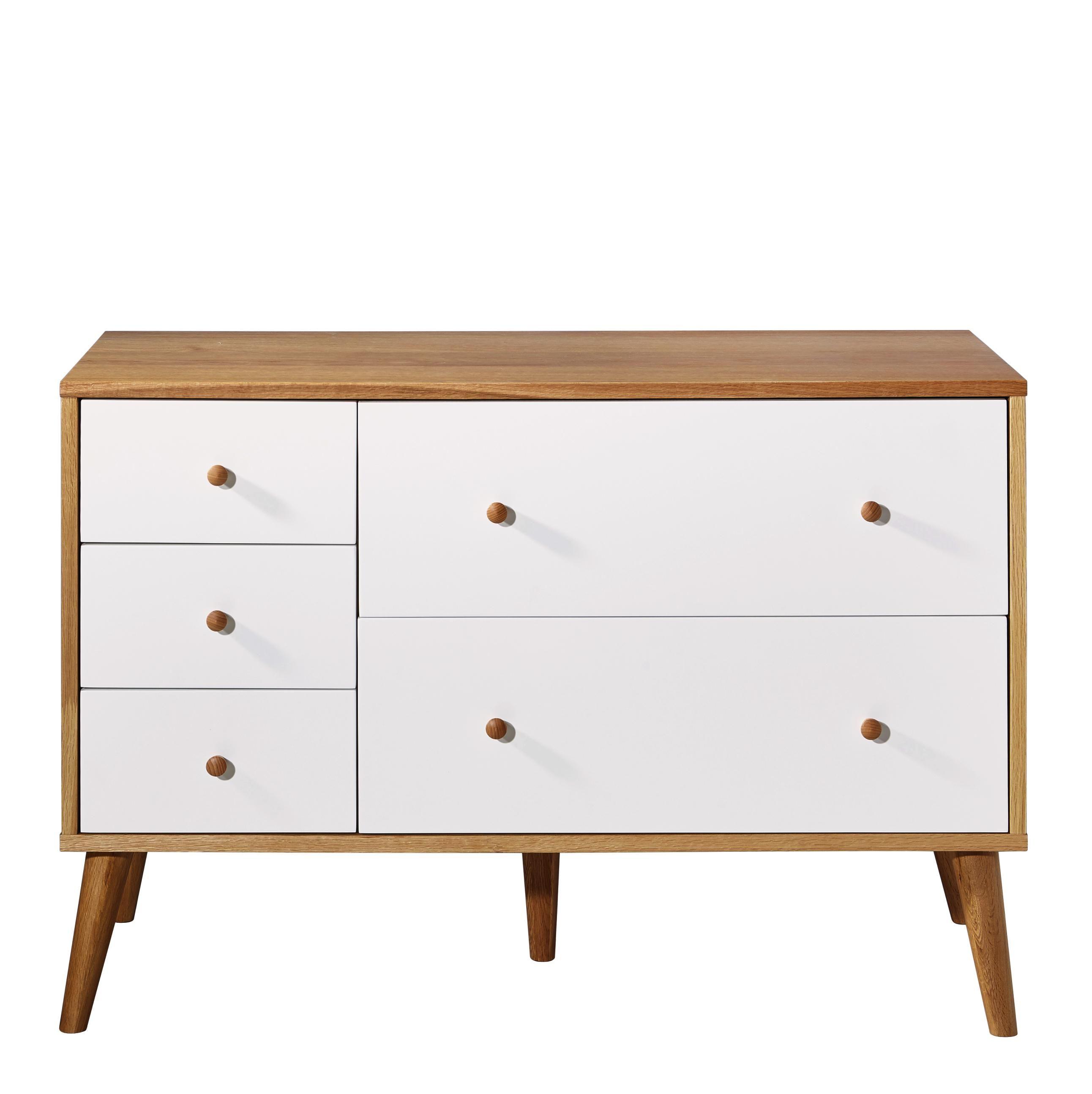 Dieses Praktische Sideboard Von Ambia Home Aus Echtholz Bringt Zusatzlichen Stauraum In Ihr Schlafzimmer Der Schrank Aus Mass Einbauschrank Schrank Schubladen