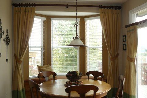 17 Best images about Bay Window Treatments on Pinterest | Window ...