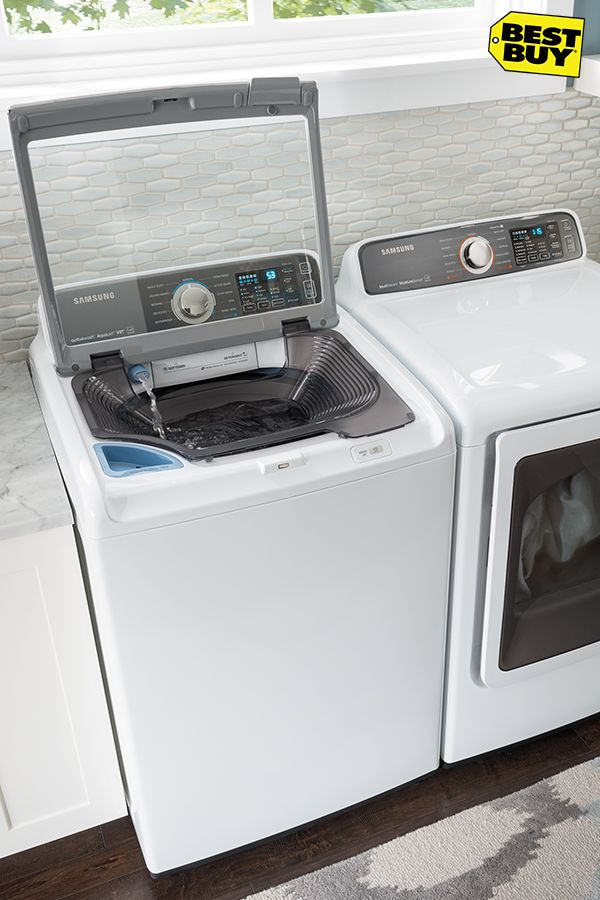 A Washer Is A Washer Right Wrong These Self Diagnosing Cycle Downloading Washers With A Built In Sink Might Just Be The Most Innovative Yet It Laundry Room